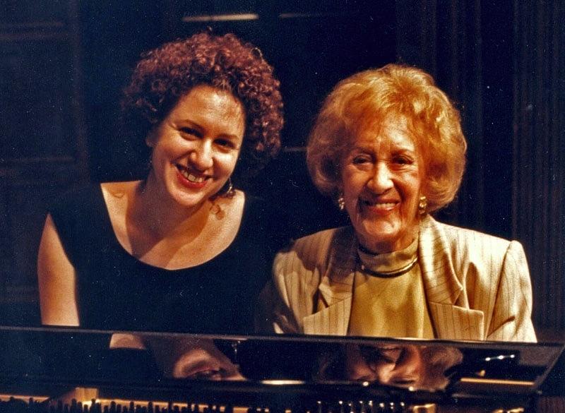 Roberta Piket and Marian McPartland