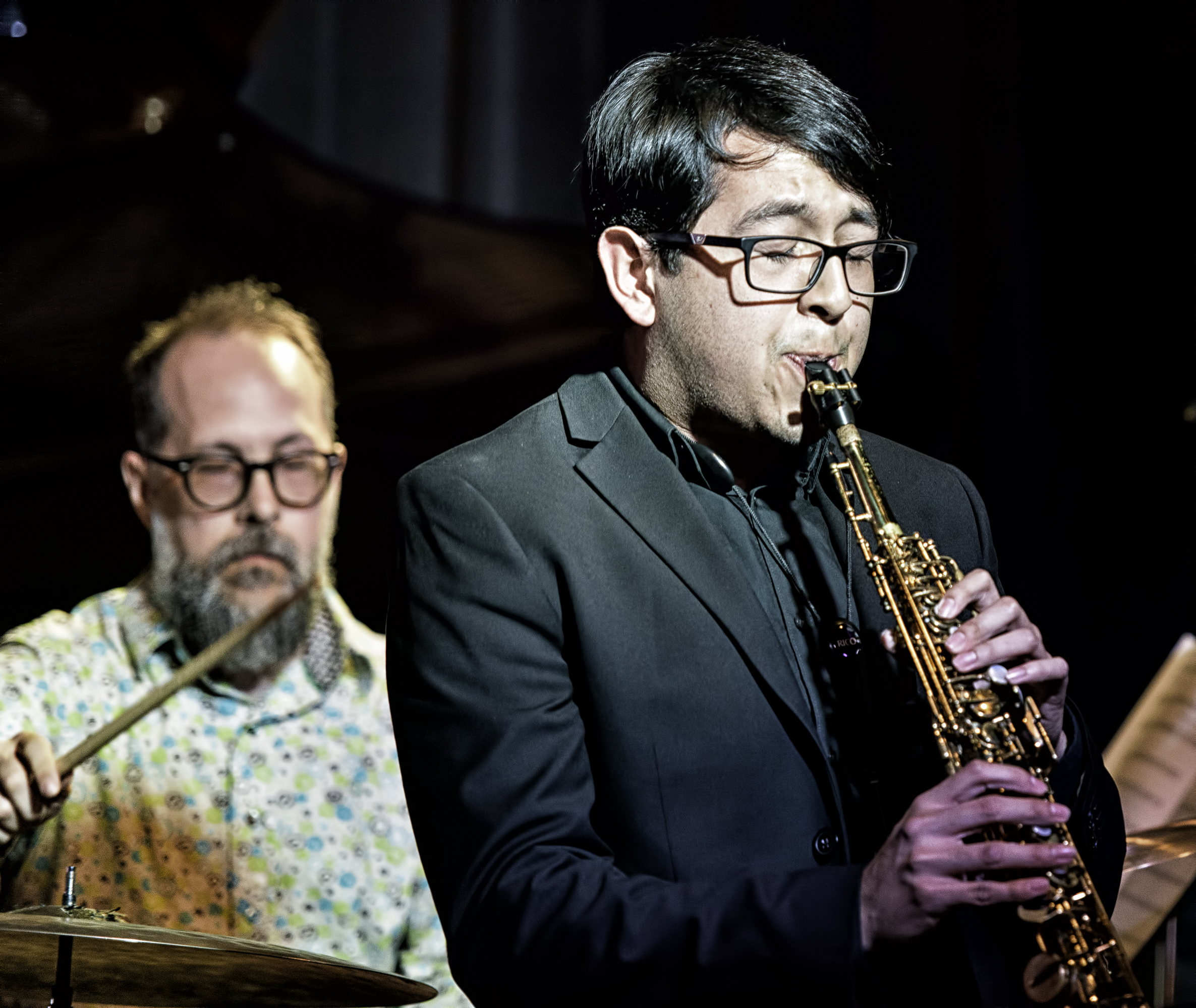 John Hollenbeck And Alan Costa With Eric Rasmussen And Scottsdale Community College Jazz Orchestra At The Nash In Phoenix
