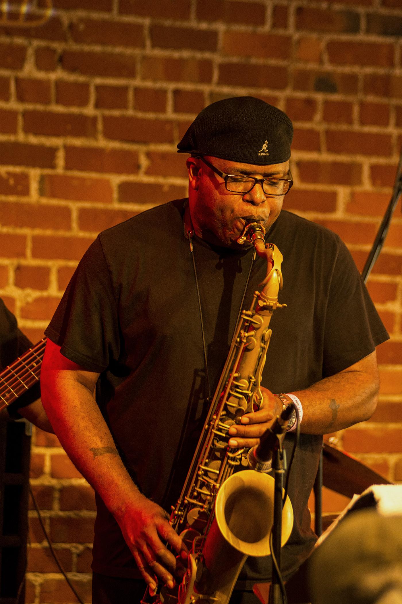 Charles McNeal at San Jose Jazz Summer Fest 2017