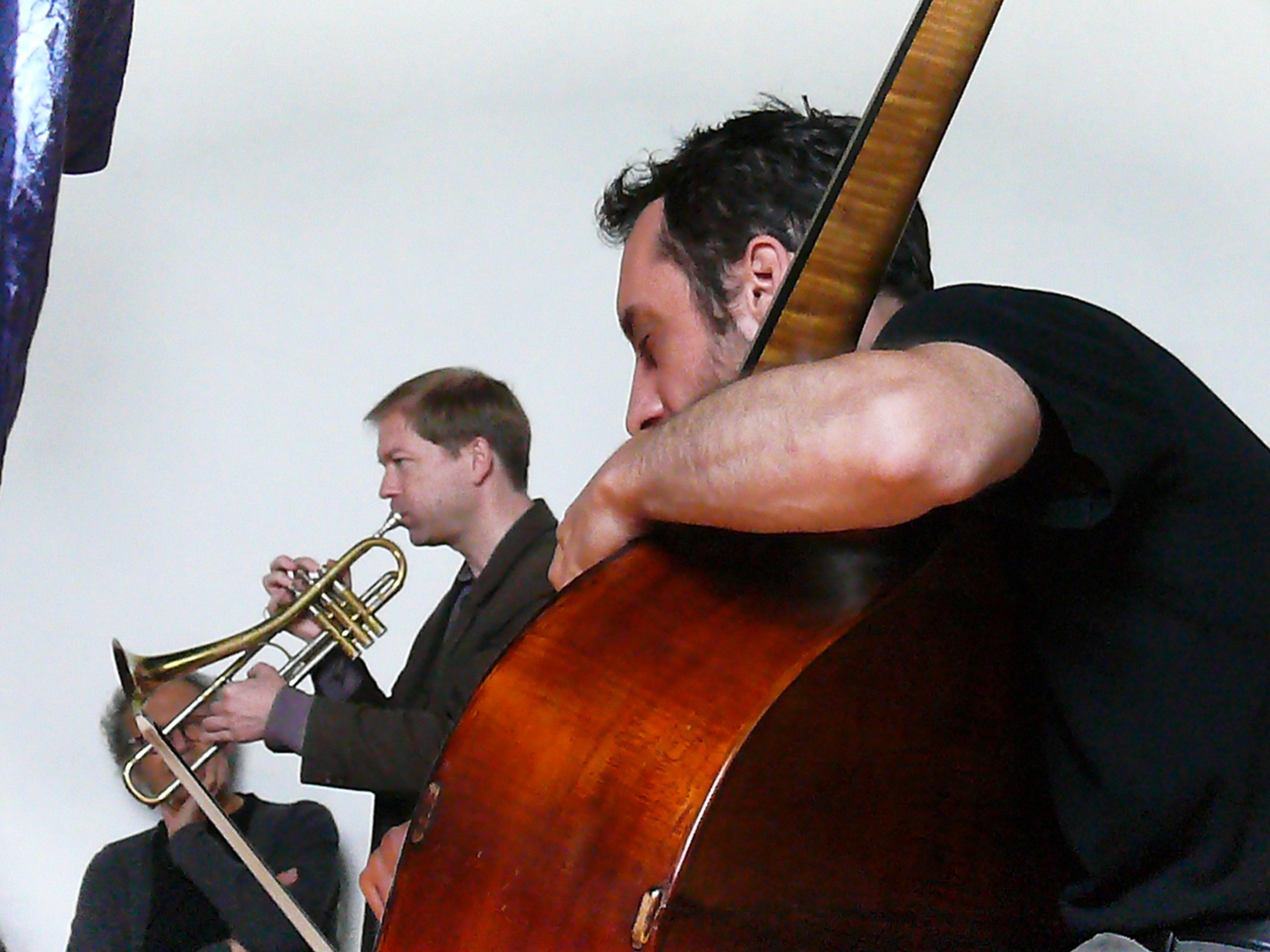 Axel Dorner and Antonio Borghini in Groningen, August 2011
