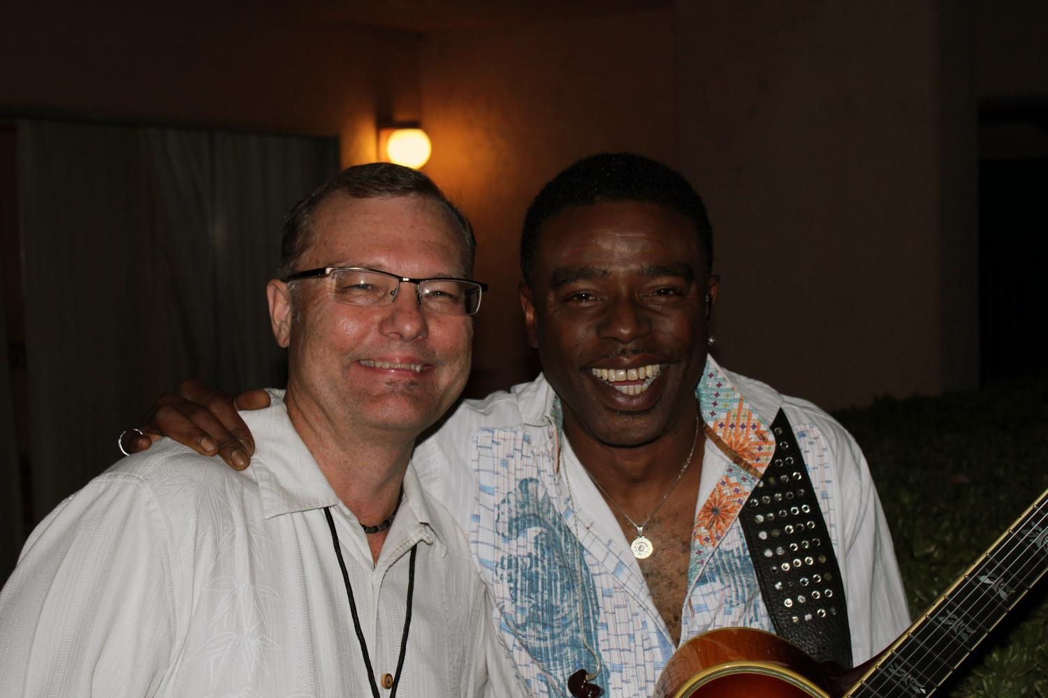 with Norman Brown