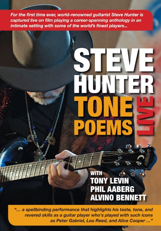 World-Renowned Guitar Player Steve Hunter Releases Live CD & DVD