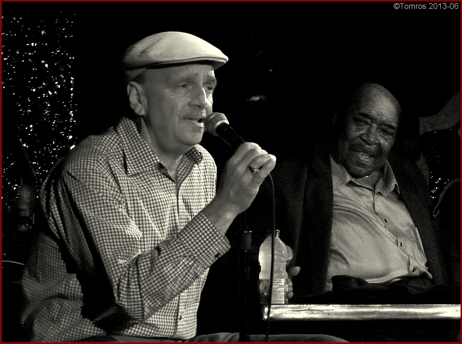 Darrell nulisch at the horseshoe with james cotton band, june 2013