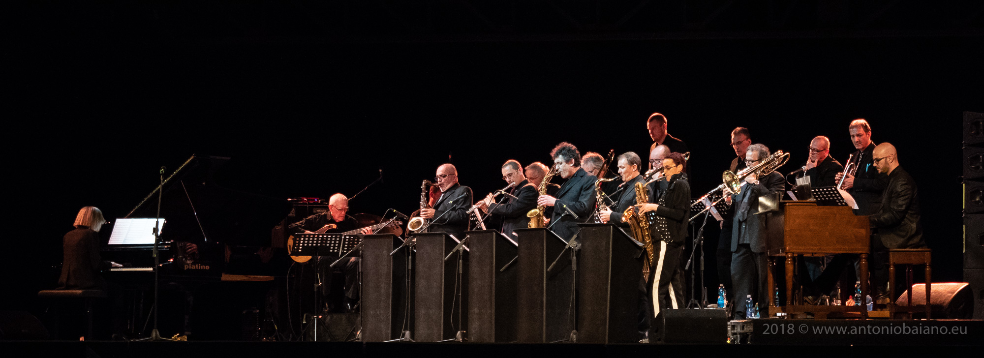 Carla Bley and the Torino Jazz Orchestra - TJF 2018