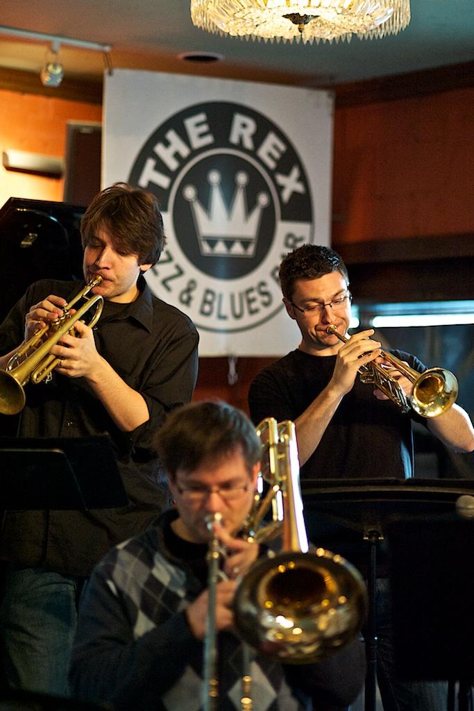 Toronto Jazz Orchestra at the Rex, Toronto