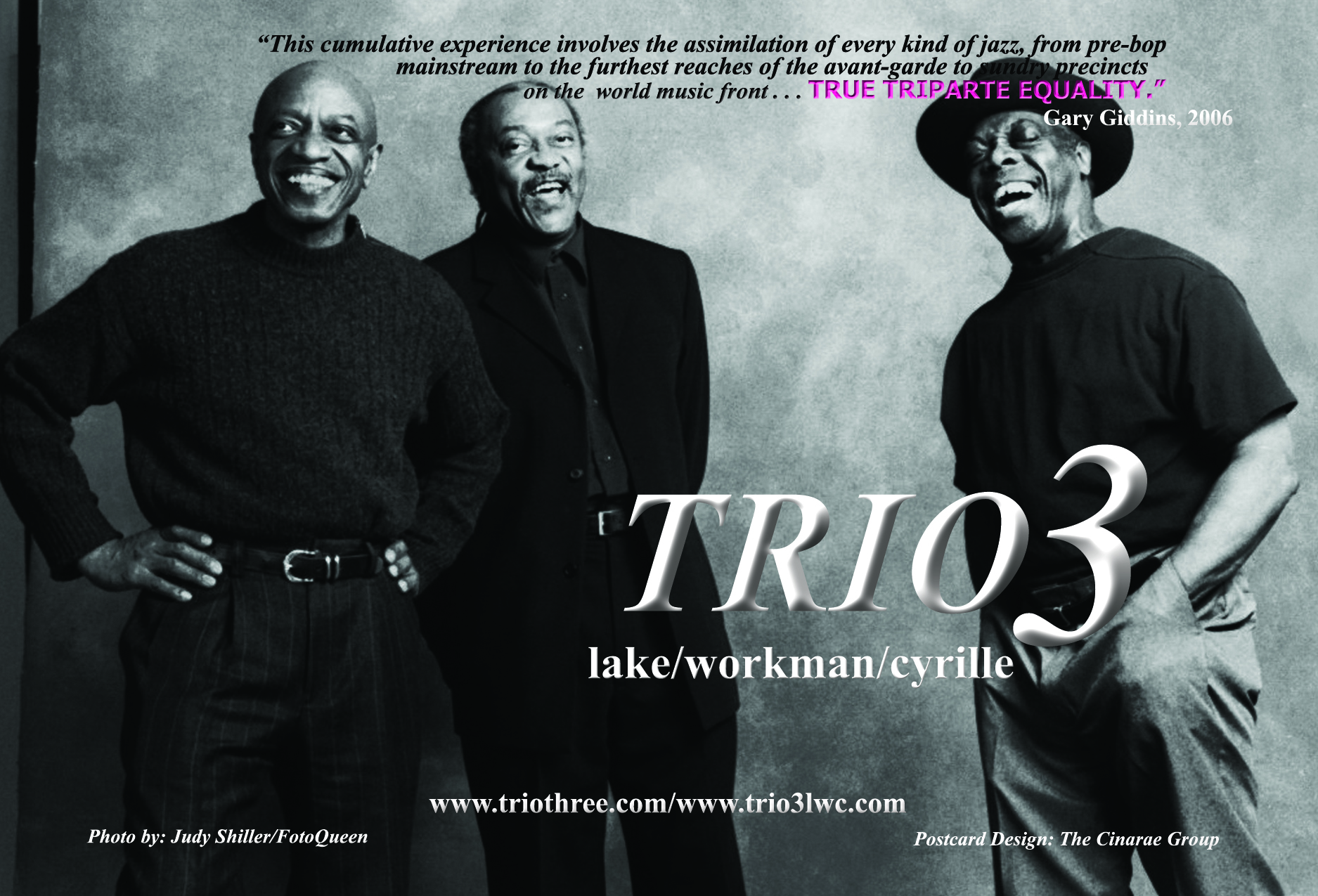 Trio 3(Lake/Workman/Cyrille)