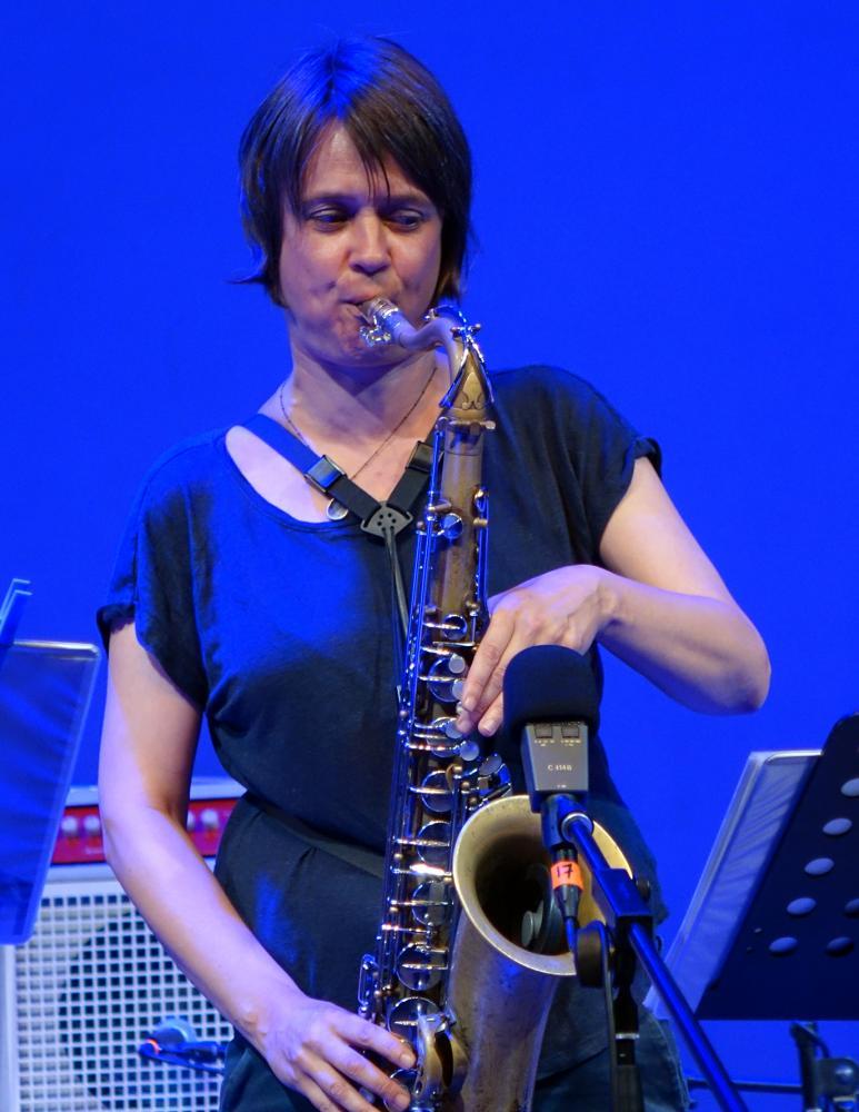 Ingrid Laubrock in Sardinia 2016