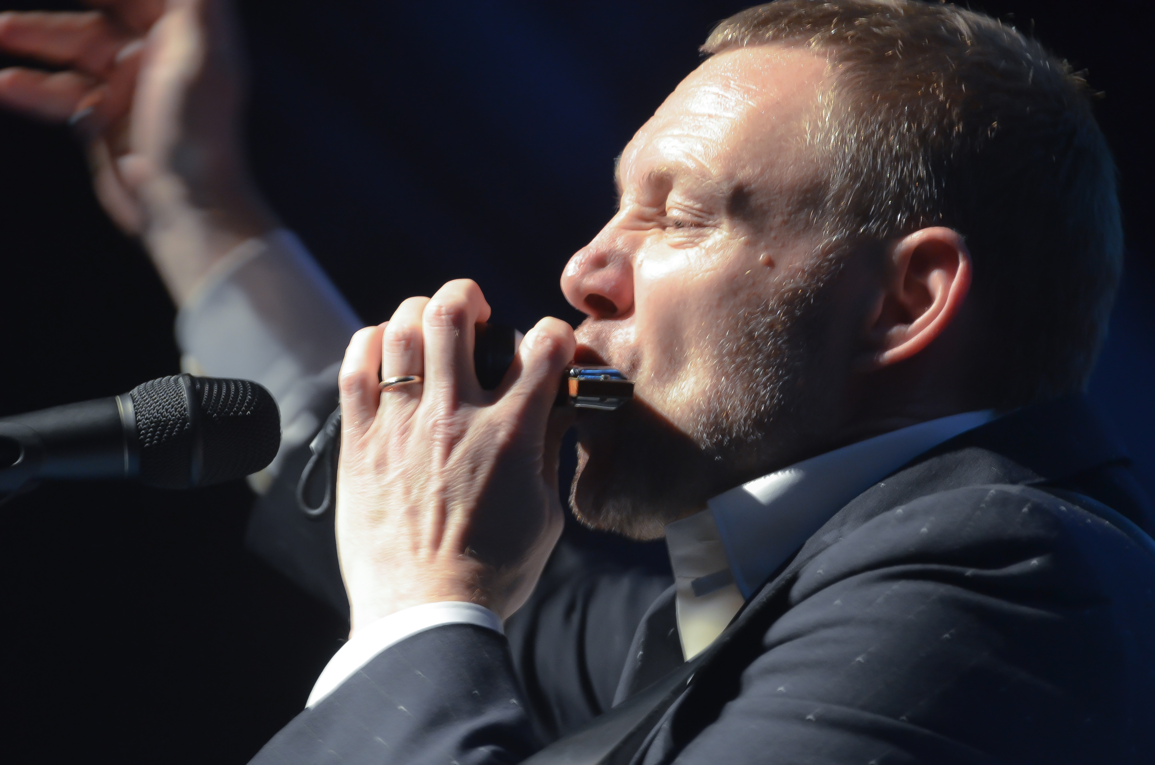 David Gray at the Theater at Madison Square Garden, 8-4-2014