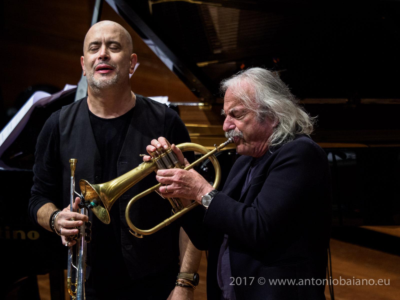Flavio Boltro and Enrico Rava - Dizzy Gillespie Centenary - Moncalieri Jazz Festival