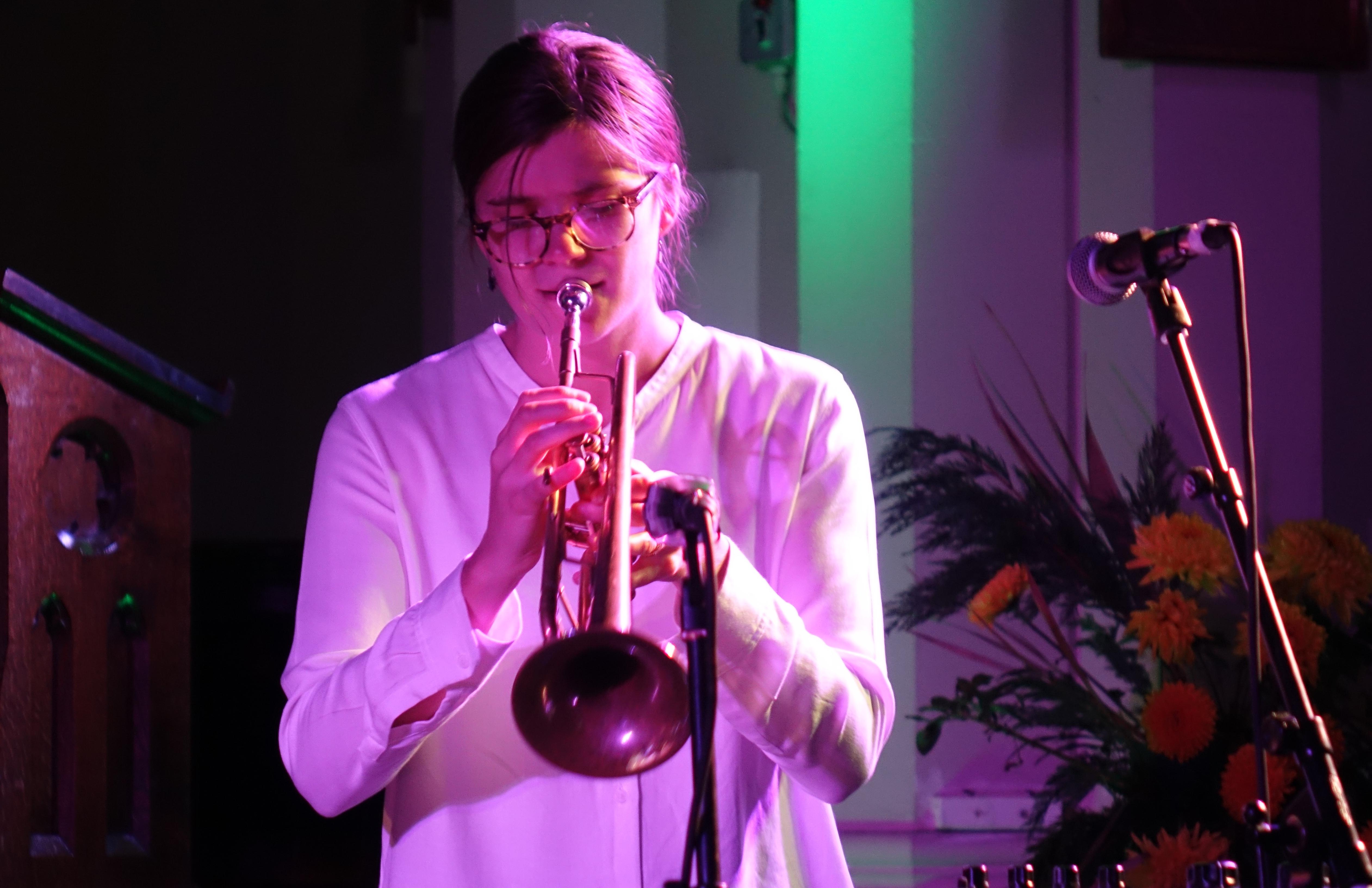 Laura Jurd at Brighton Alternative Jazz Festival in October 2018