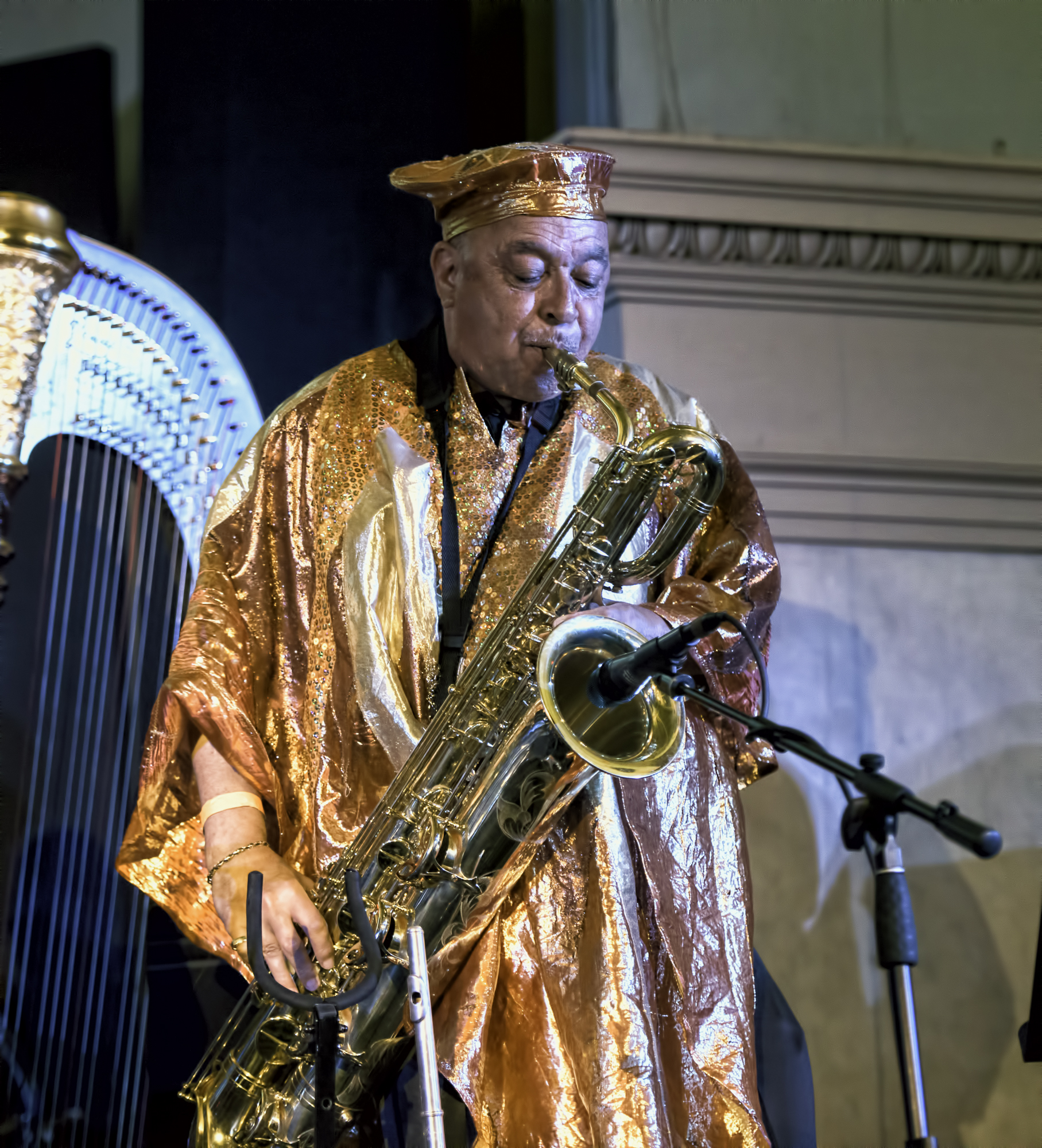Danny Ray Thompson with the Sun Ra Arkestra Directed by Marsall Allen at the 20th Anniversary Vision Festival 2015