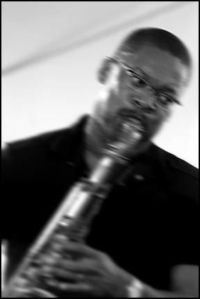 Ravi Coltrane<br>w/ McCoy Tyner<br>2005 JVC Jazz Festival in Newport, R.I.