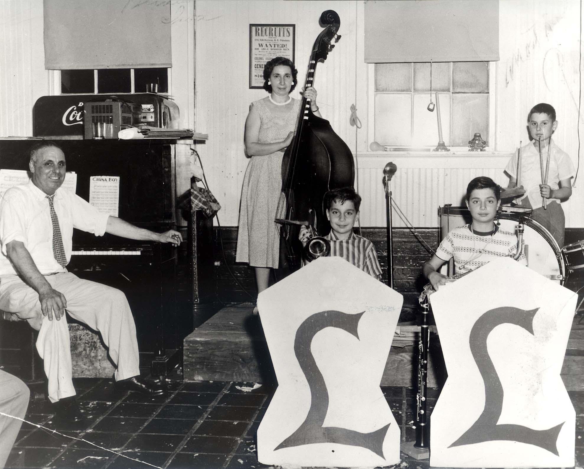 The la barbera family band