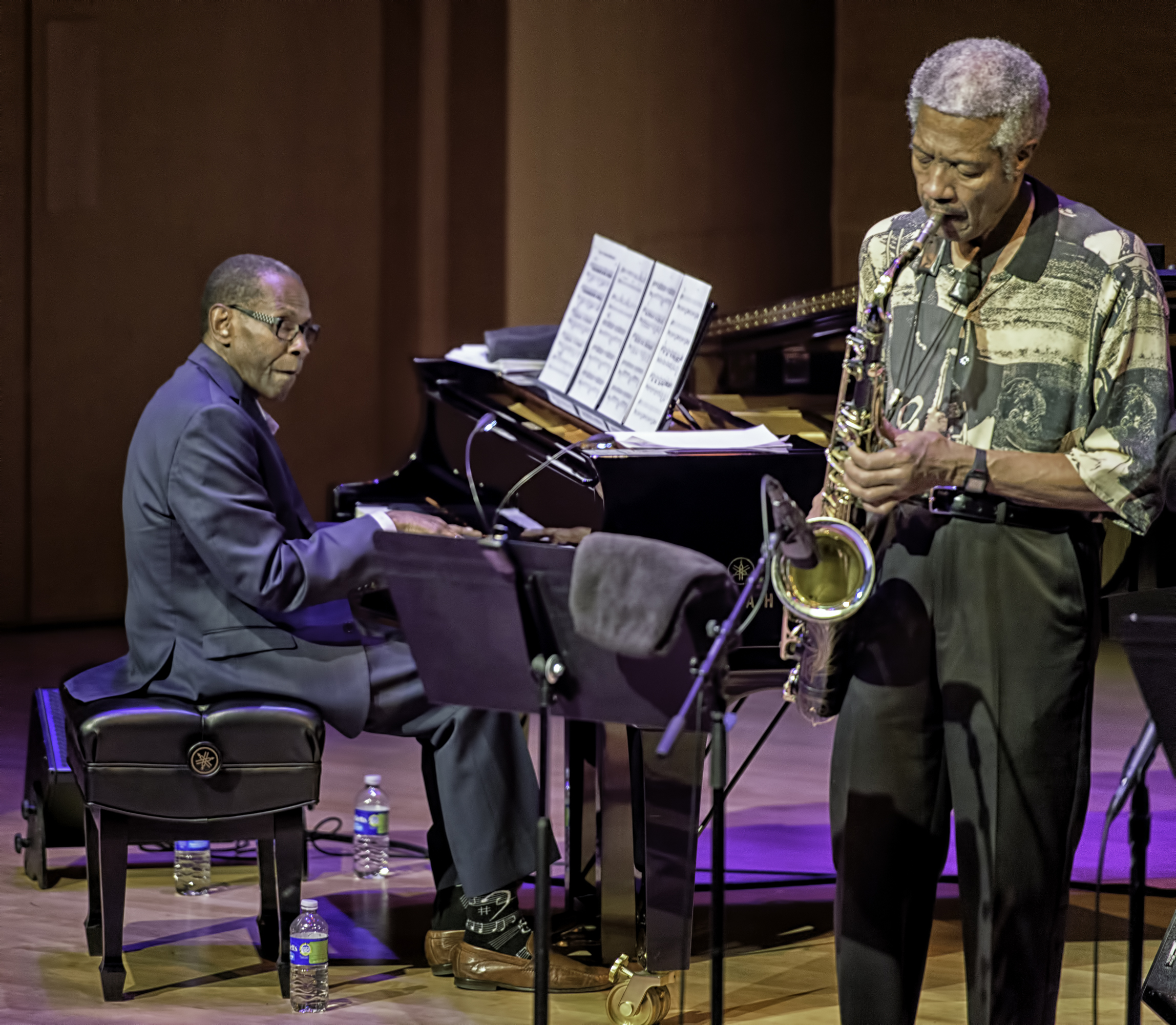 George Cables And Billy Harper With The Cookers At The Musical Instrument Museum (mim) In Phoenix