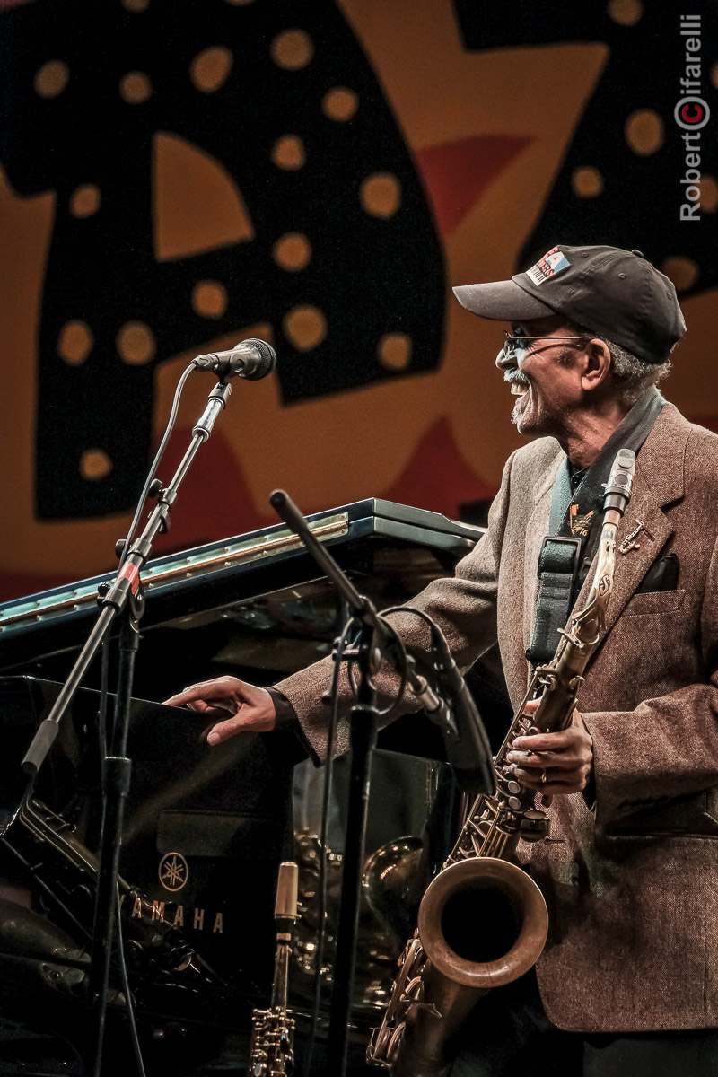 Jimmy Heath - 60th Monterey Jazz Festival, 2017