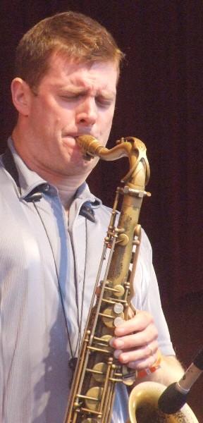 Eric Alexander with the Mike Ledonne Quartet at 2010 Chicago Jazz Festival