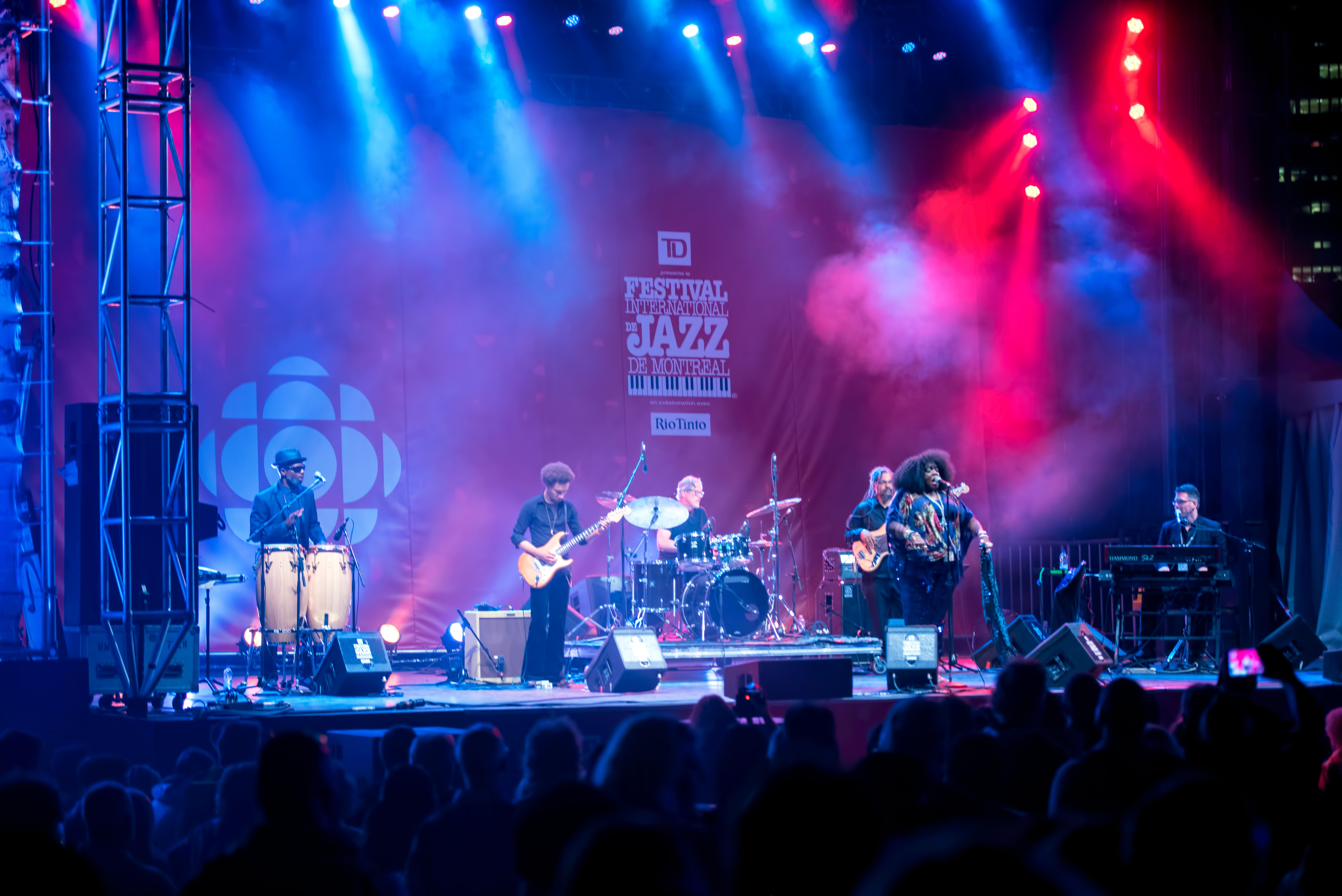 Thornetta Davis Band At The Montreal International Jazz Festival 2018