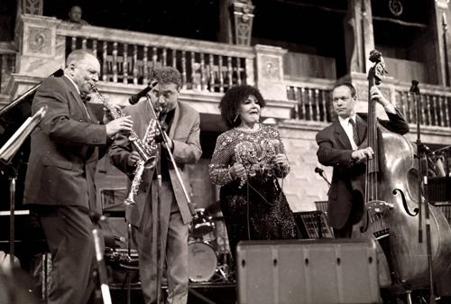 John Dankworth : Tim Garland : Cleo Laine : Alec Dankworth 1081236 Images of Jazz