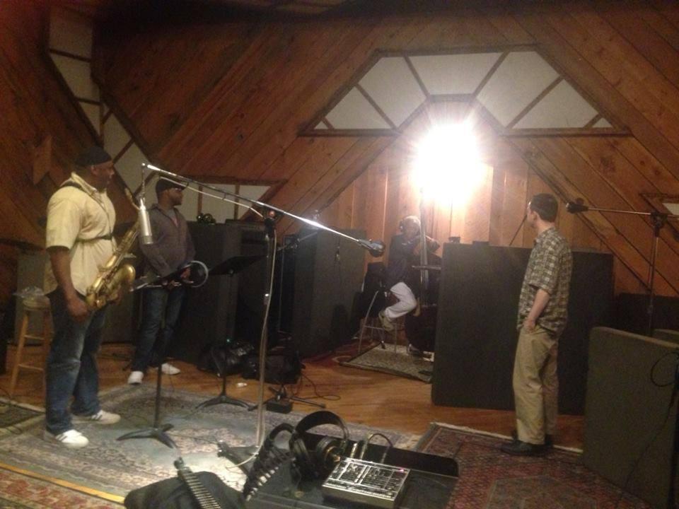 George Spanos Recording Session