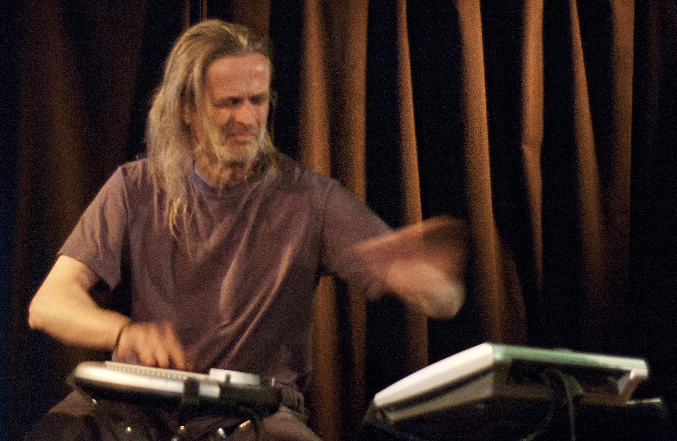 Audun Kleive with Arve Henriksen Trio at Nattjazz 2011