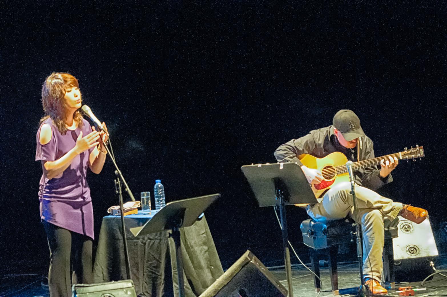 Youn sun nah and ulf wakenius at the montreal international jazz festival 2013