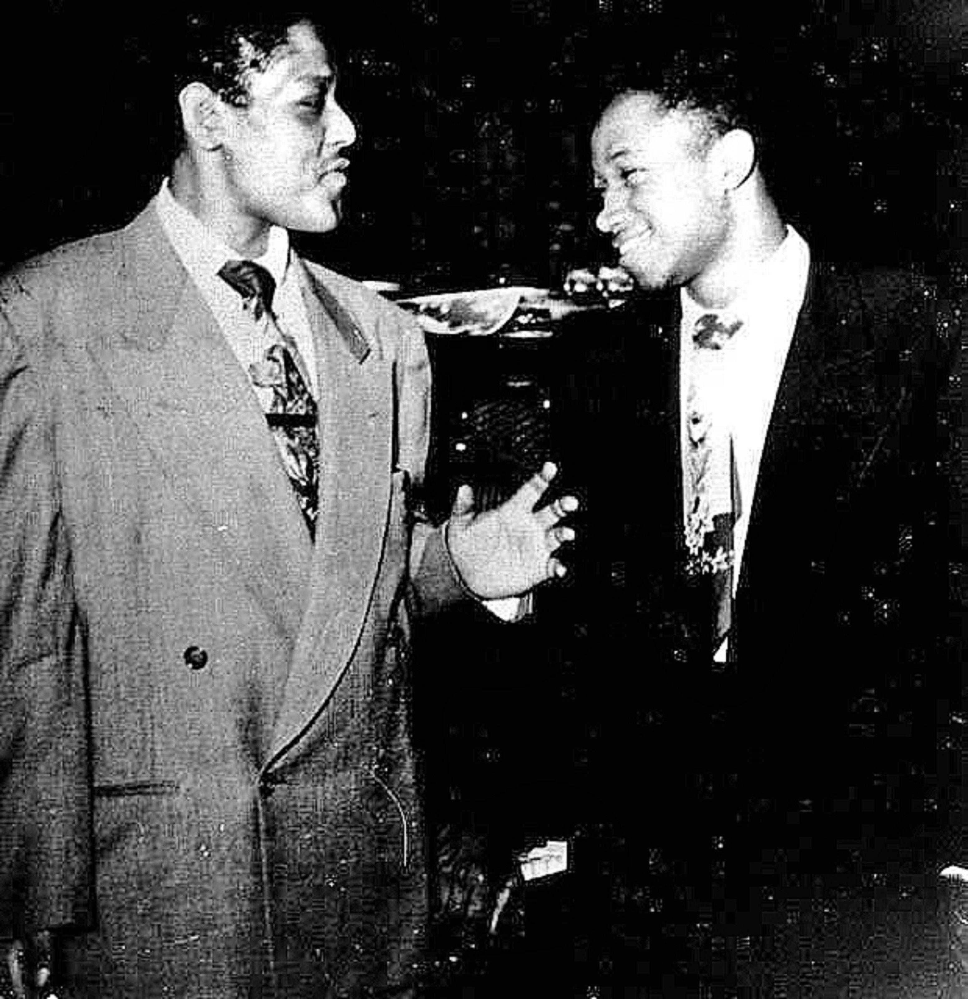 Fats Navarro and Clifford Brown, 1949