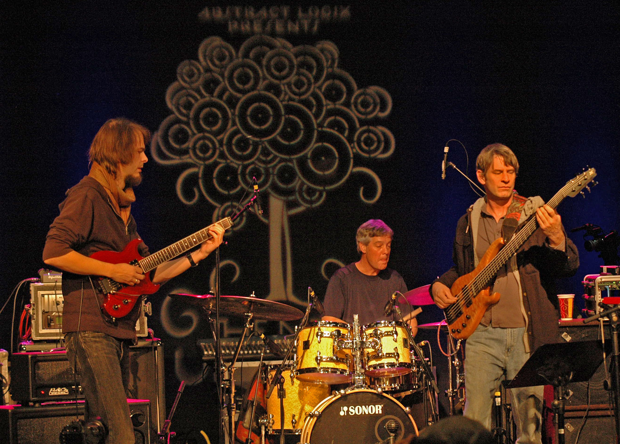 Alex Machacek, Jeff Sipe and Neal Fountain, Performing at the New Universe Music Festival 2010