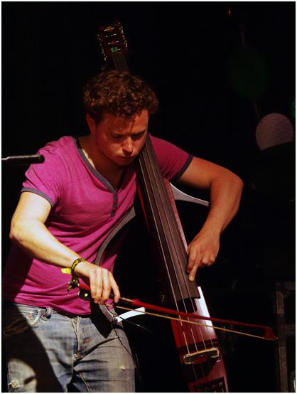 Milo fitzpatrick, portico quartet, love supreme jazz festival