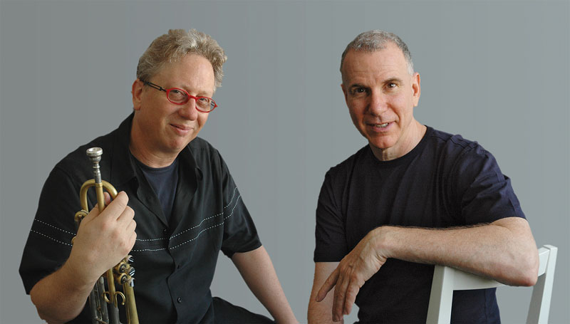 Tim Hagans (Left) with Marc Copland