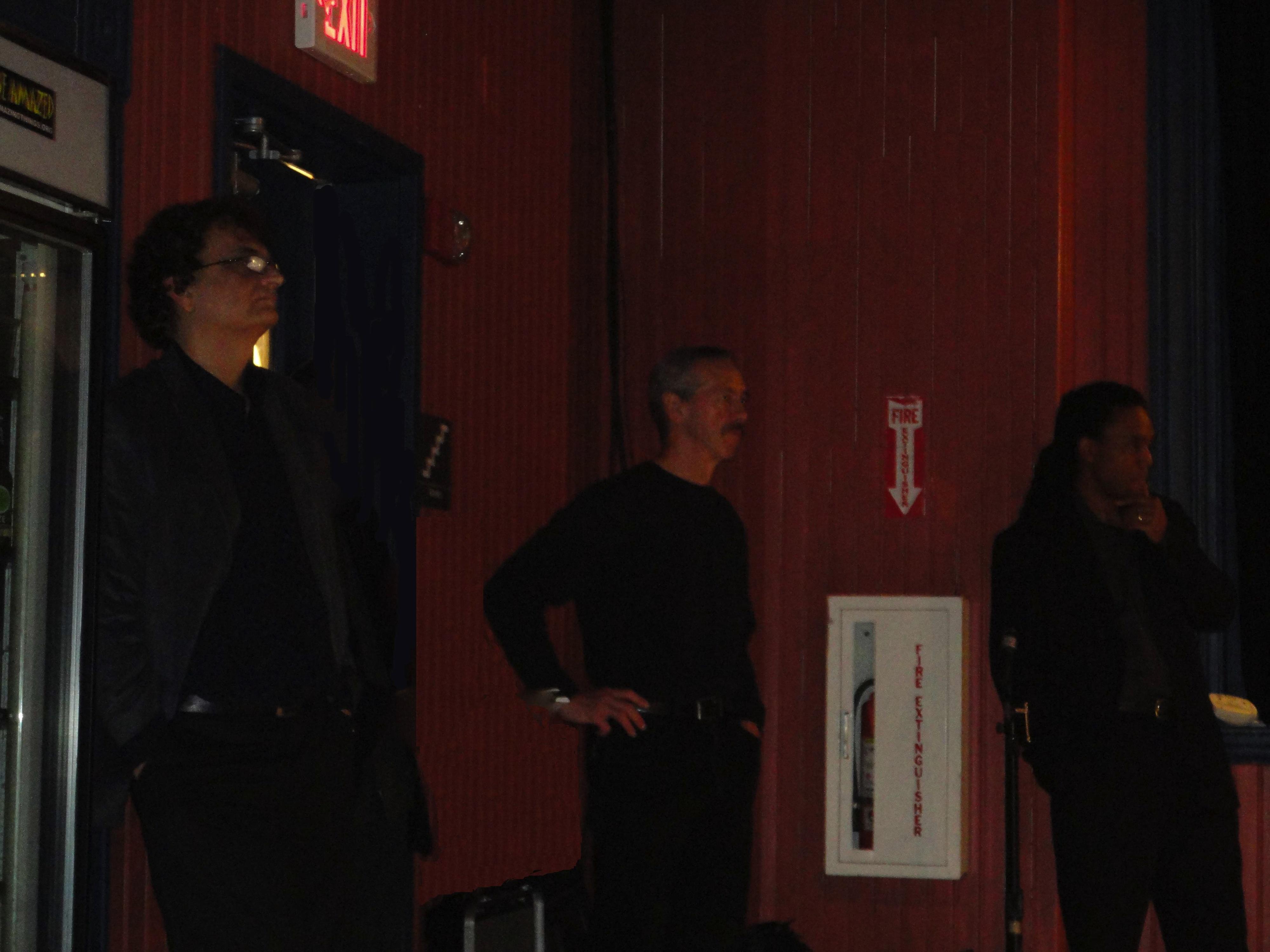 The Laszlo Gardony Trio Backstage