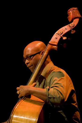 Anthony Cox of a. Cox Quartet - Gdansk in Jan. 2008