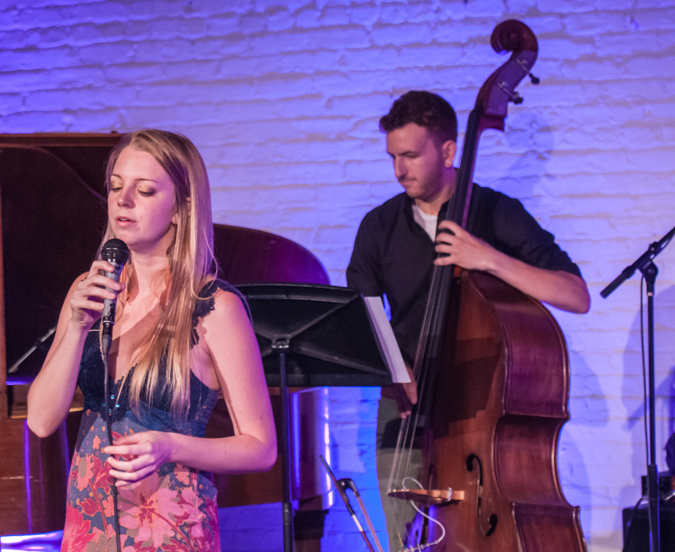 Aubrey Johnson and Zach Brown at Inner Circle Music Festival at Shapeshifter Lab
