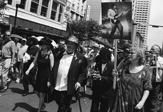 Dr. John at Earl King's Funeral Parade