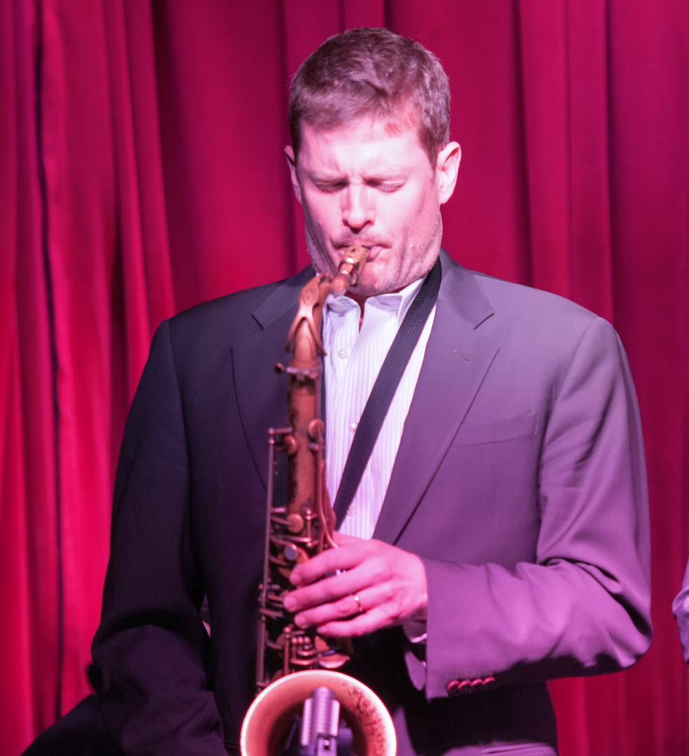 Eric alexander with one for all at smoke jazz club