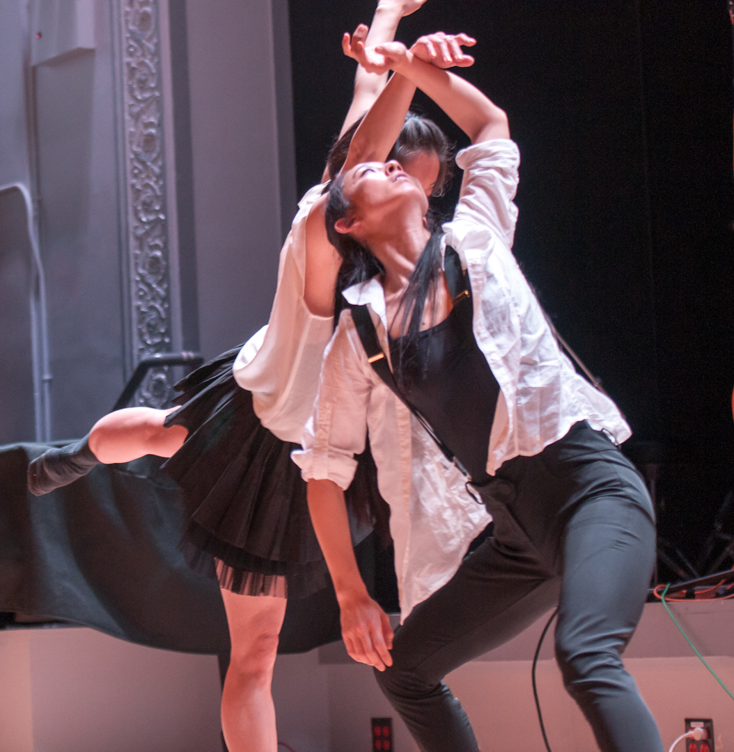 Misei Daimaru and so Young an with Jason Jordan / Knocknock Dance CO. At the Vision Festival 2012