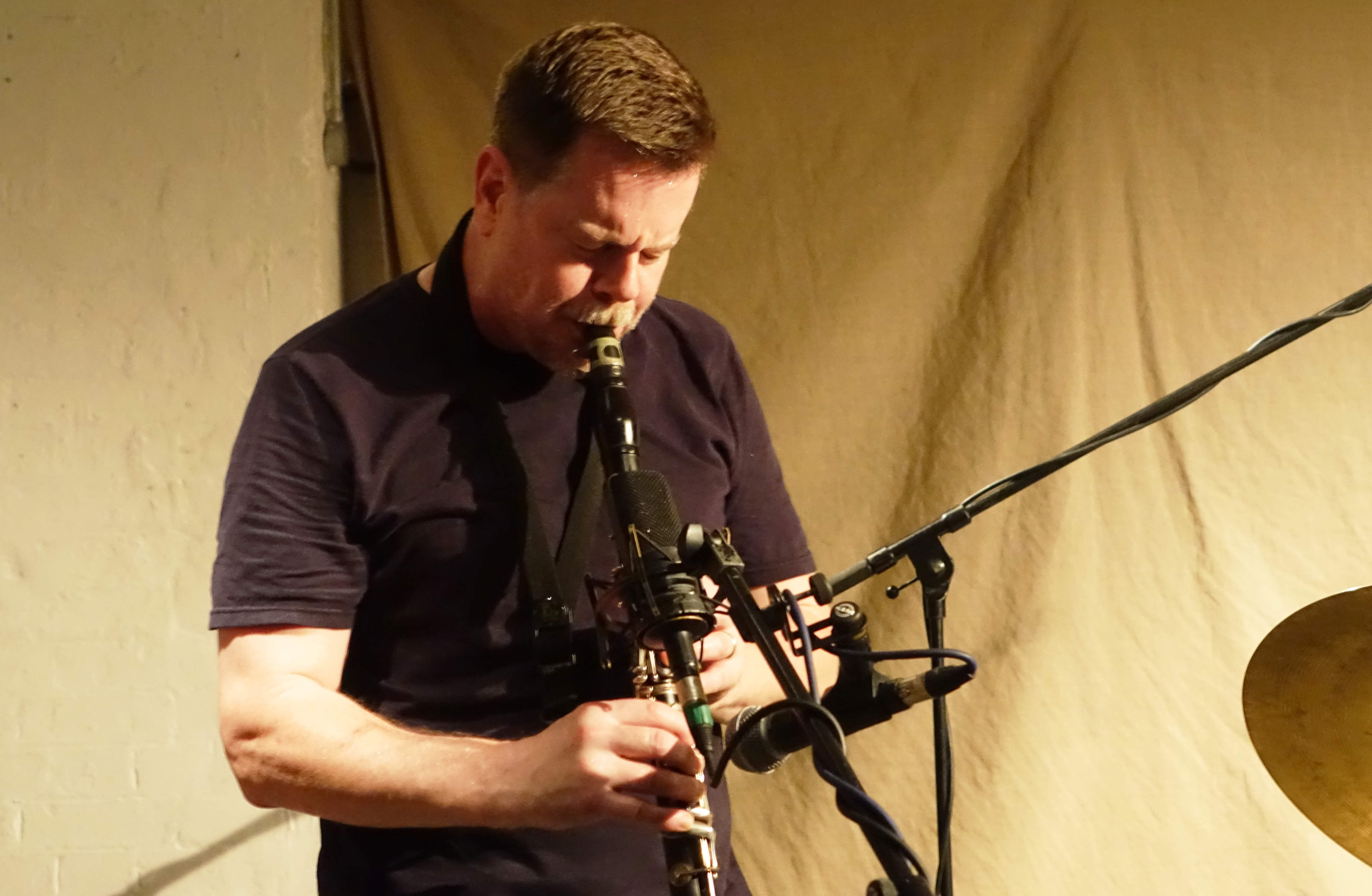 Ken Vandermark at Cafe Oto, London in September 2018
