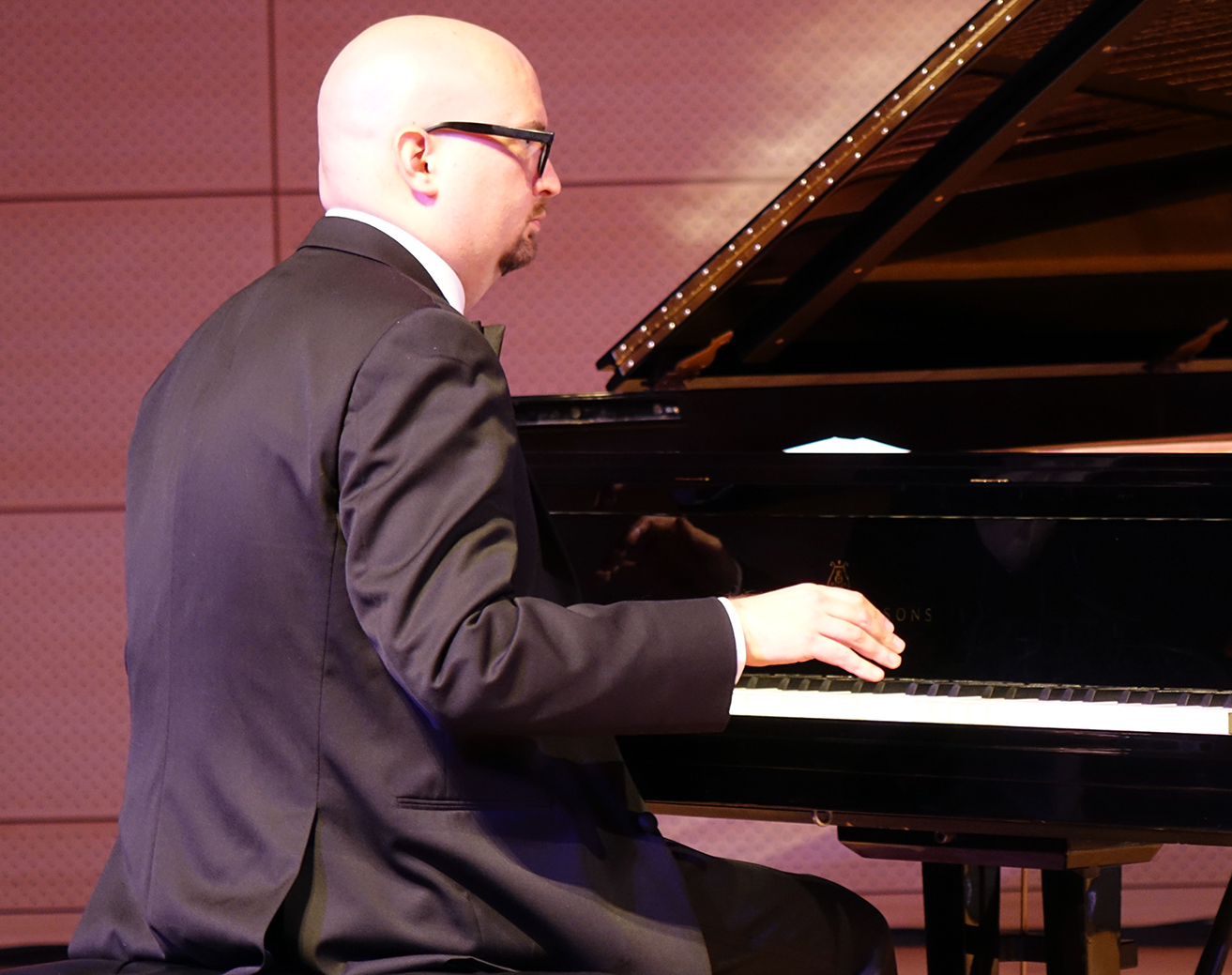 Ethan Iverson At Nyc Winter Jazzfest 2016