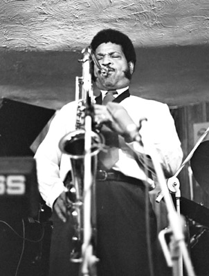 George Coleman 0428112 Bass Clef, London. Sept. 1986 Images of Jazz