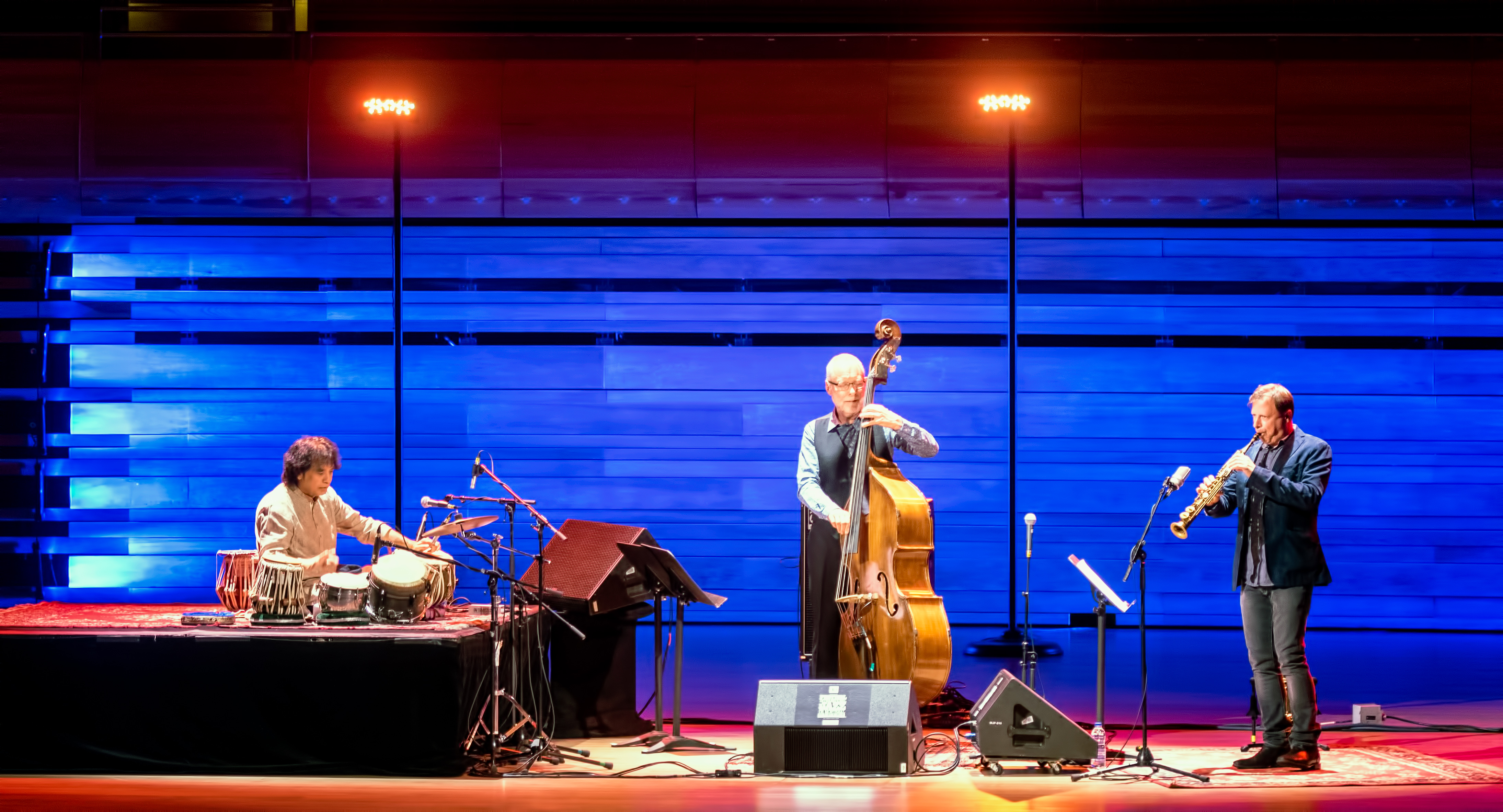 Zakir Hussein, Dave Holland and Chris Potter at The Montreal International Jazz Festival 2018