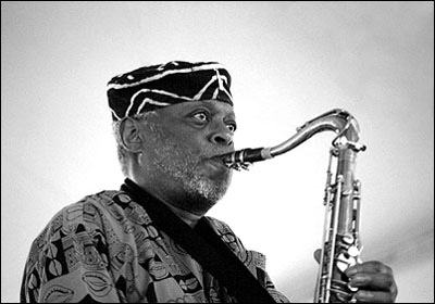 Dewey Redman<br>2003 JVC Jazz Festival<br>in Newport R.I.