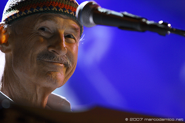 Joe Zawinul: The Last Concert. Villa Celimontana Jazz Festival, Rome 26 July 2007.