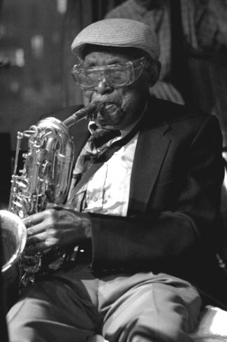 Cecil Payne Performing at the Kitano Hotel; NYC 2006