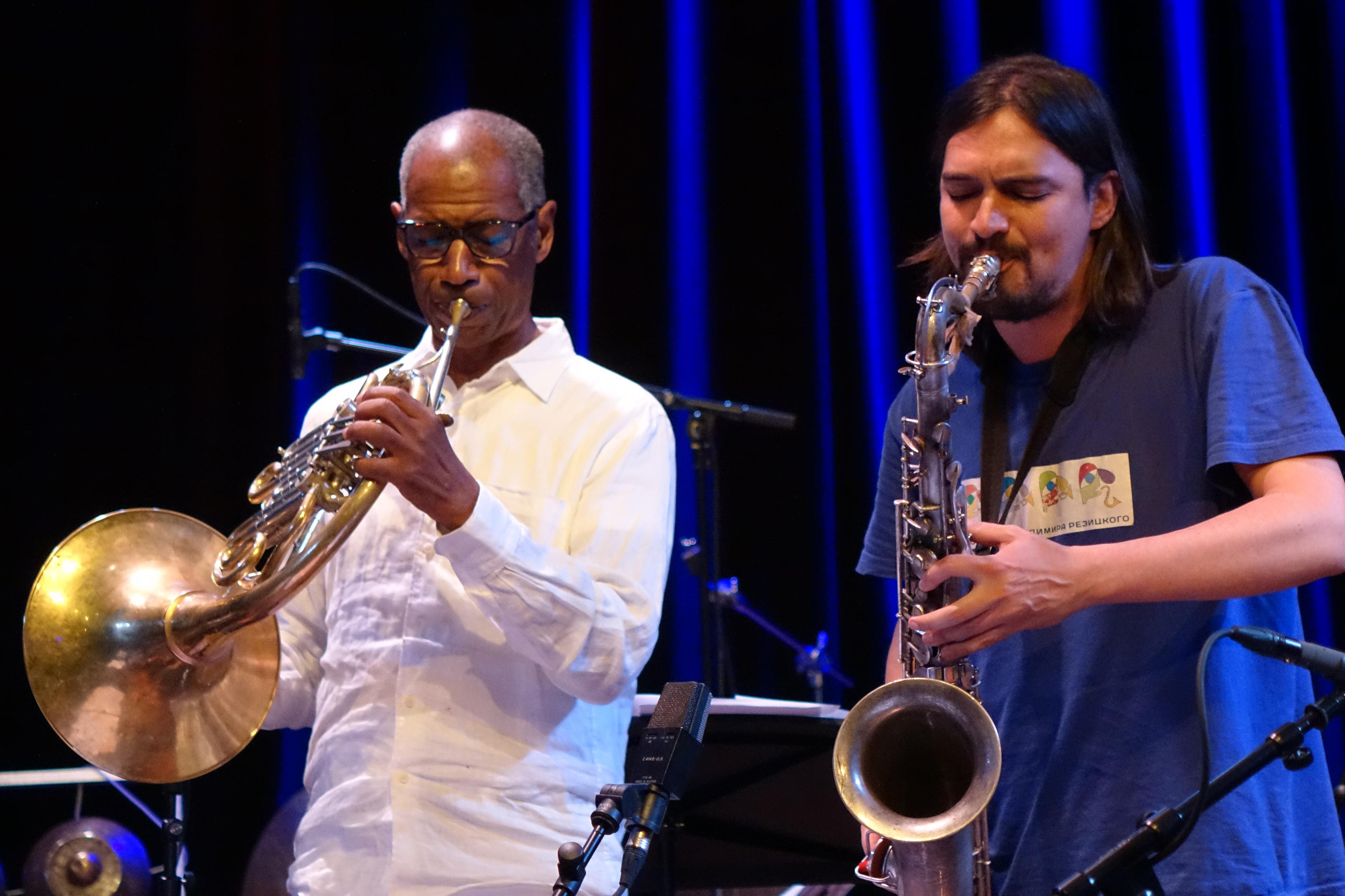 Vincent Chancey and John Dikeman at Doek Festival 2015