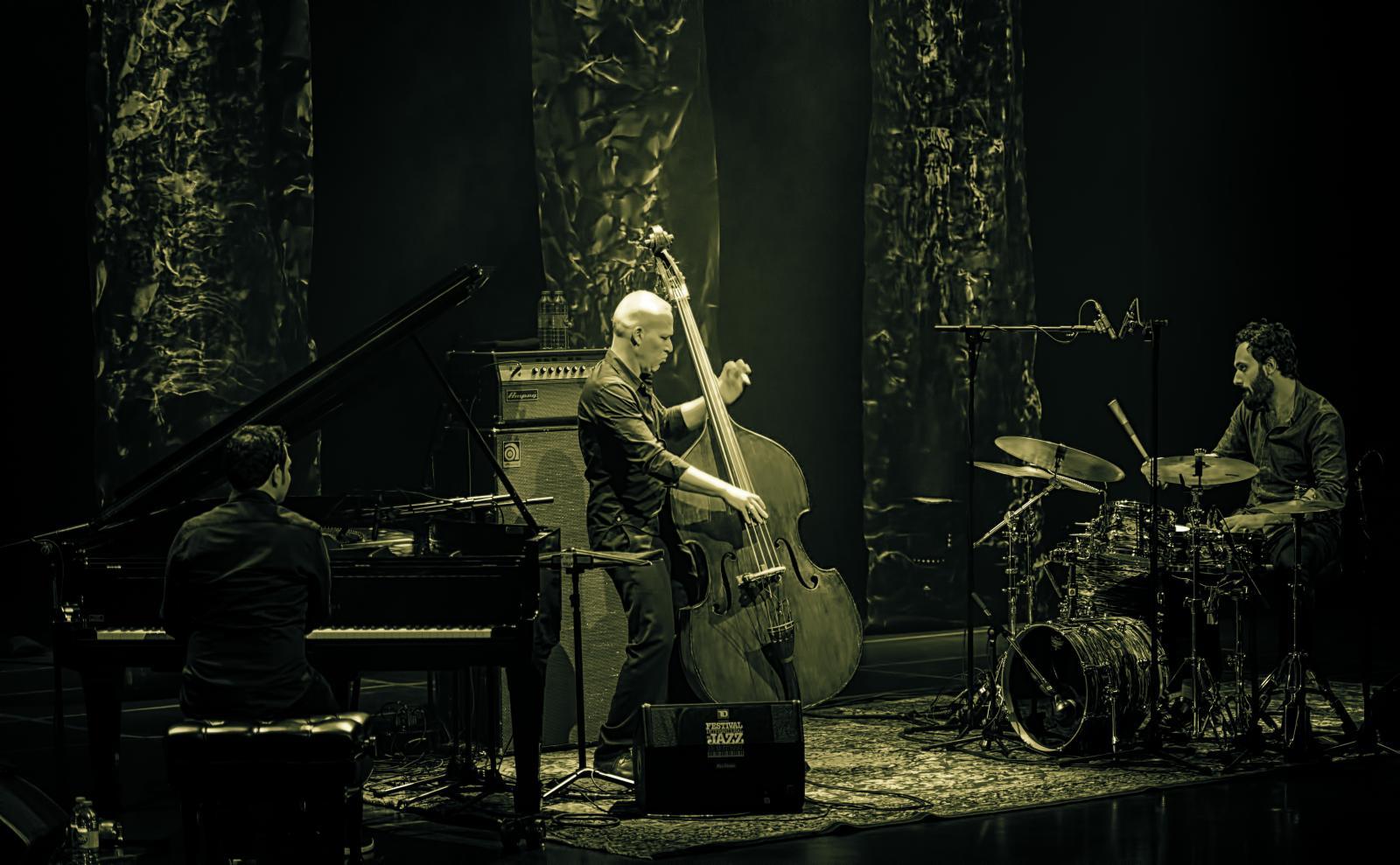 Omri Mor, Avishai Cohen and Daniel Dor at the Montreal International Jazz Festival 2016