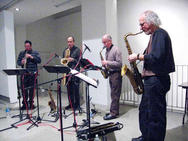 Rova Saxophone Quartet - Cue Arts Foundation 2007