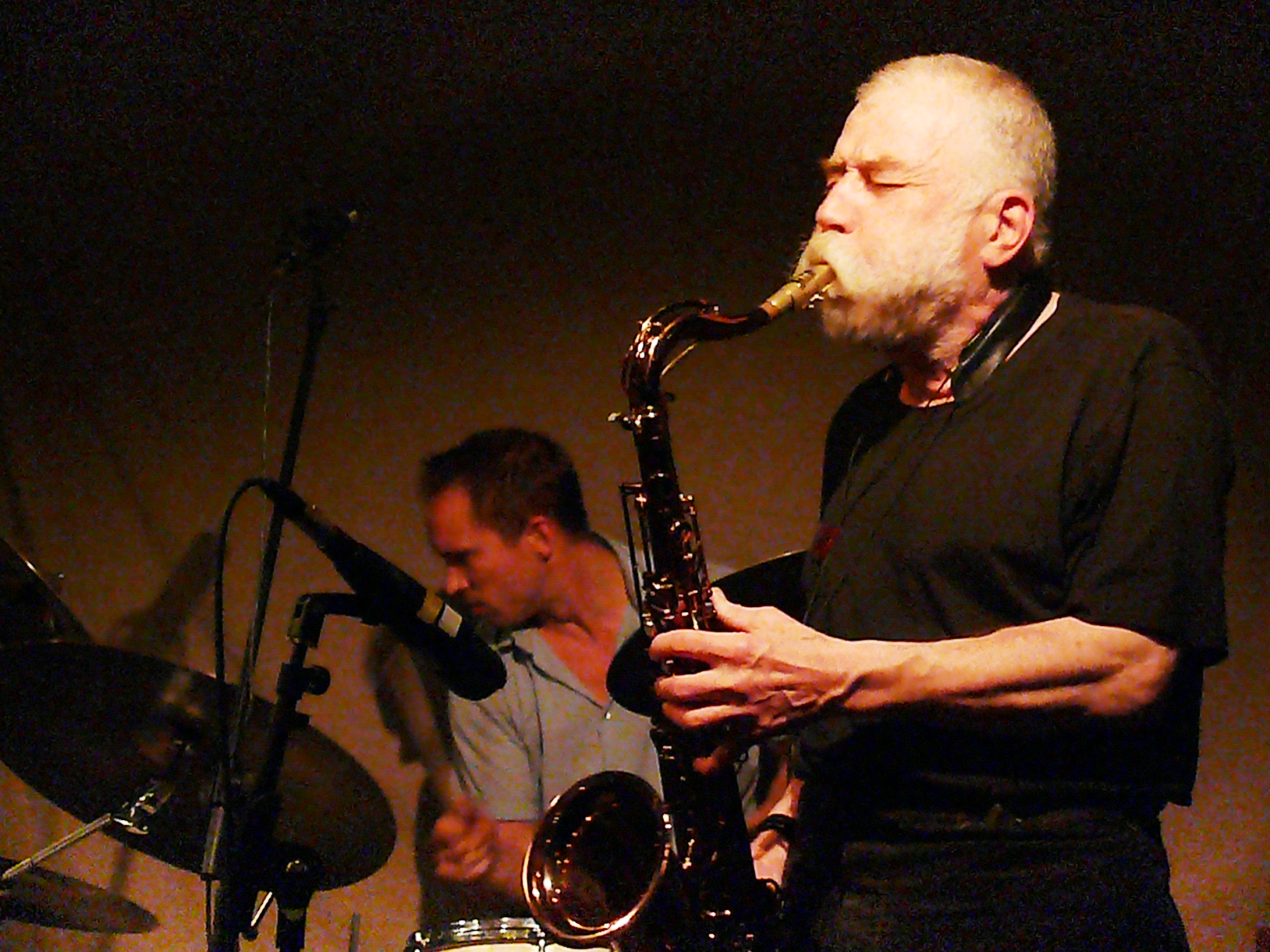 Paal Nilssen-Love and Peter Brotzmann at Cafe Oto, London in November 2012