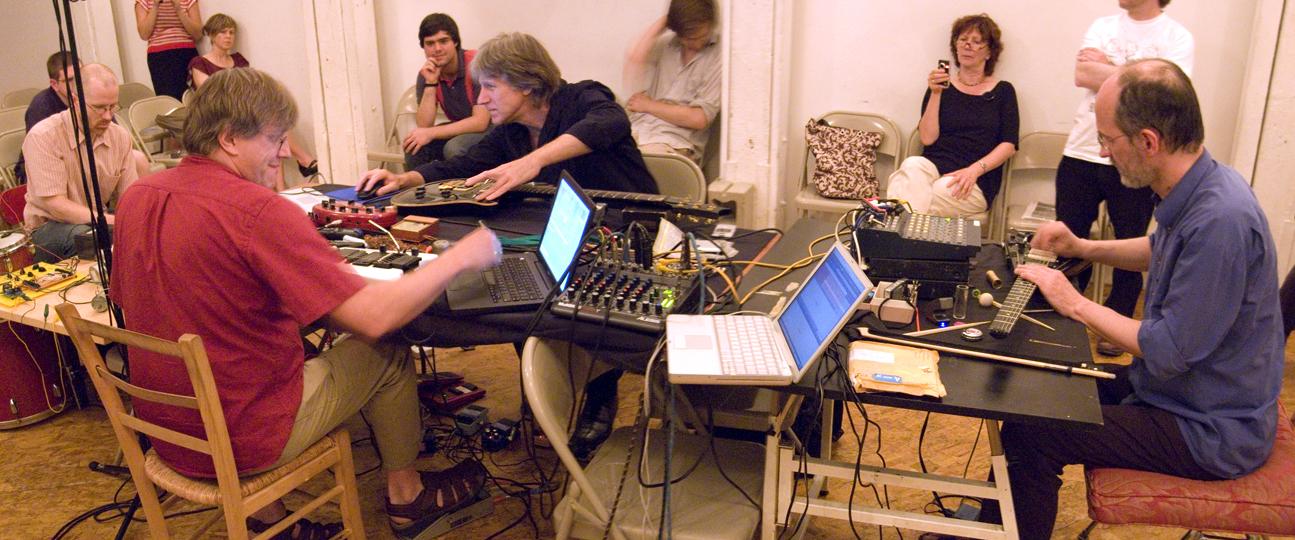 The Extended Guitars - (Hans Tammen + Erhard Hirt + Nick Didkovsky + Douglas Repetto) - Ipr 2008