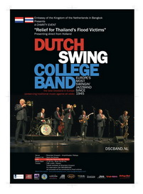 Dutch Swing College Band Concert for Thailand Flood Victims