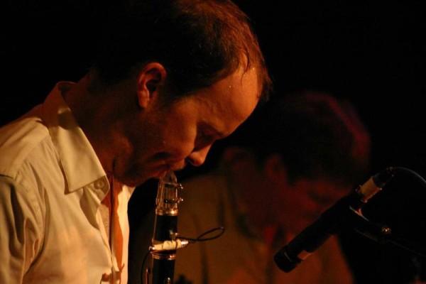 "Chris Speed and Jim Black with ""Pachora"" at Amr, Sud Des Alpes, Geneva, Switzerland, 2004"