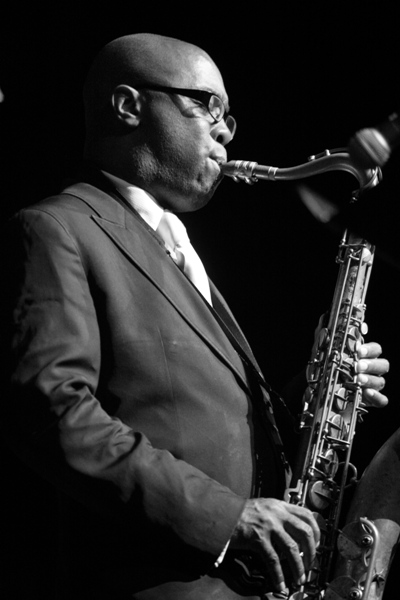 Tim Warfield Performing with the Nicholas Payton Group at the Harris Theater, Chicago 2006